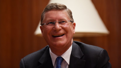 Former premier Denis Napthine honoured for public service