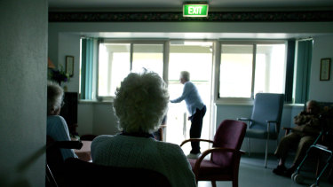 "Younger people are stuck living ""a prison sentence"" with nursing homes being increasingly used as a band-aid solution for the failings of the federal and state governments, an inquiry has been told."