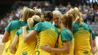 If the Diamonds make the final, players will have a short turnaround before Super Netball resumes.