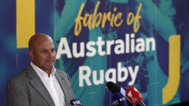 Interim Rugby Australia chief executive Rob Clarke.