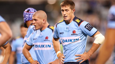 Alex Newsome and the Waratahs enter Friday's clash with the Force  as underdogs.