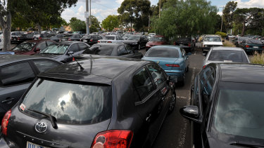 No matter how big they are, railway station car parks are usually full.