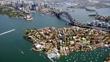 Sydney has fallen back in the economic pack after recording its slowest growth rate in three years