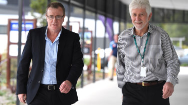 Ideas man: Titans chief executive Graham Annesley  will take up the role of NRL head of football next year.