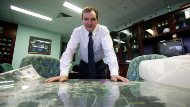 Pisasale as mayor in 2005 with his plan for Ipswich.
