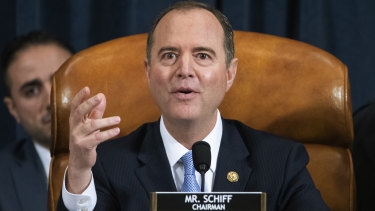 "House Intelligence Committee Chairman Adam Schiff said he took witness intimidation ""very seriously""."