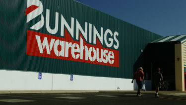 Wesfarmers, which owns Bunnings, has also committed to new climate targets this week.