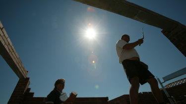 Lending for new home building has surged.
