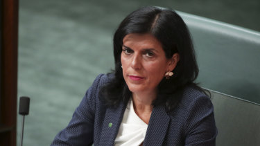 Liberal MP Julia Banks was an outsider to the party before the last election.