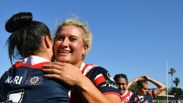 The women's game has been saved by direct funding from the NRL.