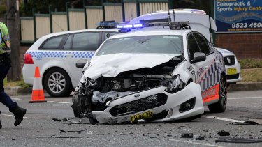 Police have confirmed the car involved in the crash was travelling at high speeds before the crash.