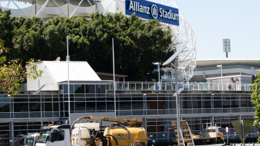 Minor works have begun towards the demolition of Aussie Stadium. But a local community group is desperately fighting in court to stop the knock-down.