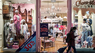 While the stores were closed, online sales at sleepwear chain Peter Alexander almost quadrupled.