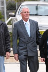 Bill Spedding outside the Coroner's Court earlier this year.