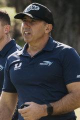 Sprint coach Roger Fabri