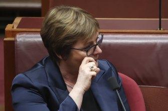 Defence Minister Linda Reynolds has taken leave.