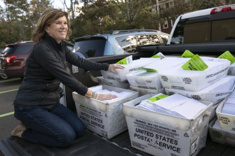 Millions of ballots have already been mailed out to voters across the US.