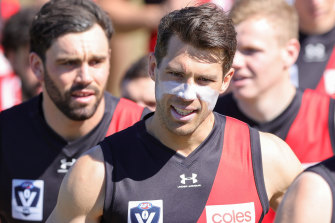 Alex Rance was the star attraction for a one-off appearance with Essendon's VFL side.