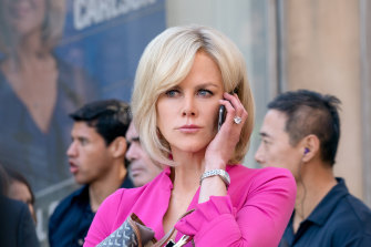Nicole Kidman as Gretchen Carlson – the veteran presenter who took on Fox.