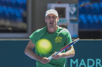 John Millman sizes up the ball as tennis prepares for a multitude of new formats.