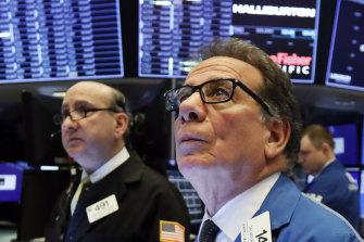 Wall Street opened sharply lower on Thursday.