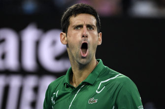 Djokovic in the clear for 'shoe tap' on chair umpire
