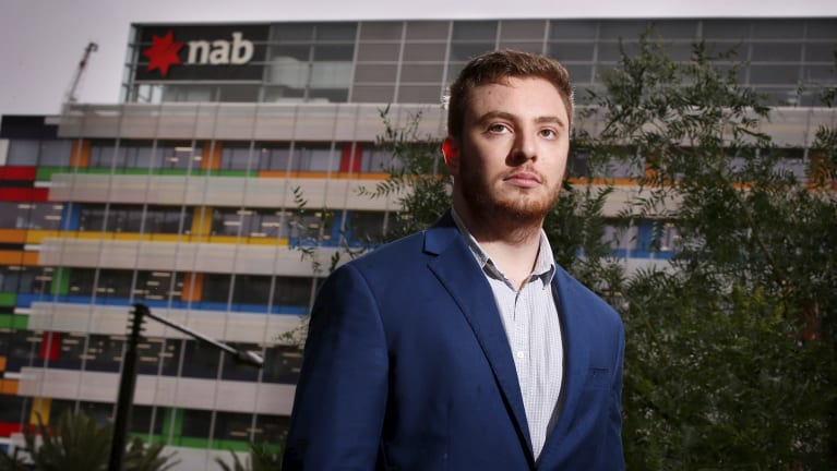 Daniel Stuart claims he worked for NAB for a year without pay
