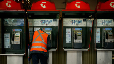 Amid debate over their role, Australia's familiar Telstra payphones have undergone a facelift.