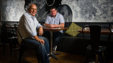 Tony Lo Terzo and Francesco Petrillo are opening The Italian Place.