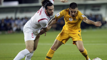 Socceroo Jamie Maclaren: a potential target for Melbourne City?