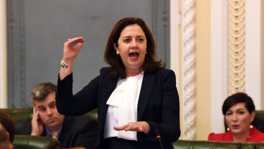"""Queensland Premier Annastacia Palaszczuk says the Griffith-led study is """"just one report""""."""