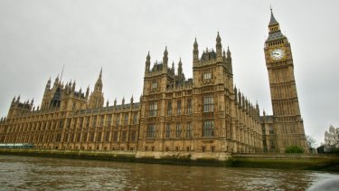 The British Parliament House in London.
