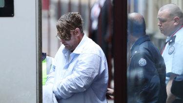 Jason Considine leaves court on Friday