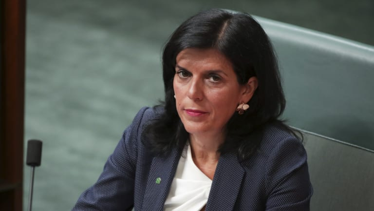 Julia Banks delivered a scathing critique of the treatment of women in Australian politics.