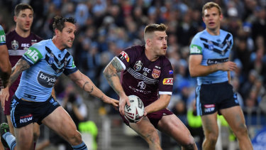 Bright spot: Cameron Munster's performance was a positive for Queensland.