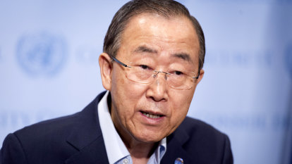'Lead by example': Former UN chief says Morrison must do more on climate