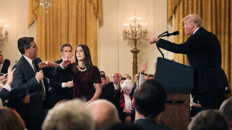 White House shares fake video to support punishment of CNN's Jim Acosta