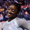 'Absolutely the best ever': Biles soars to fifth all-around world title