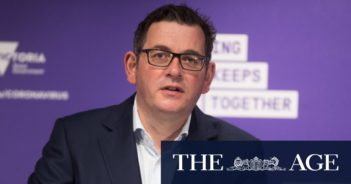 Daniel Andrews says he'll lead Labor to the next state election – The Age