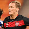 Wanderers veteran Thwaite to hit A-League milestone in first Sydney derby