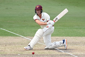 Marnus Labuschagne on his way to 192.