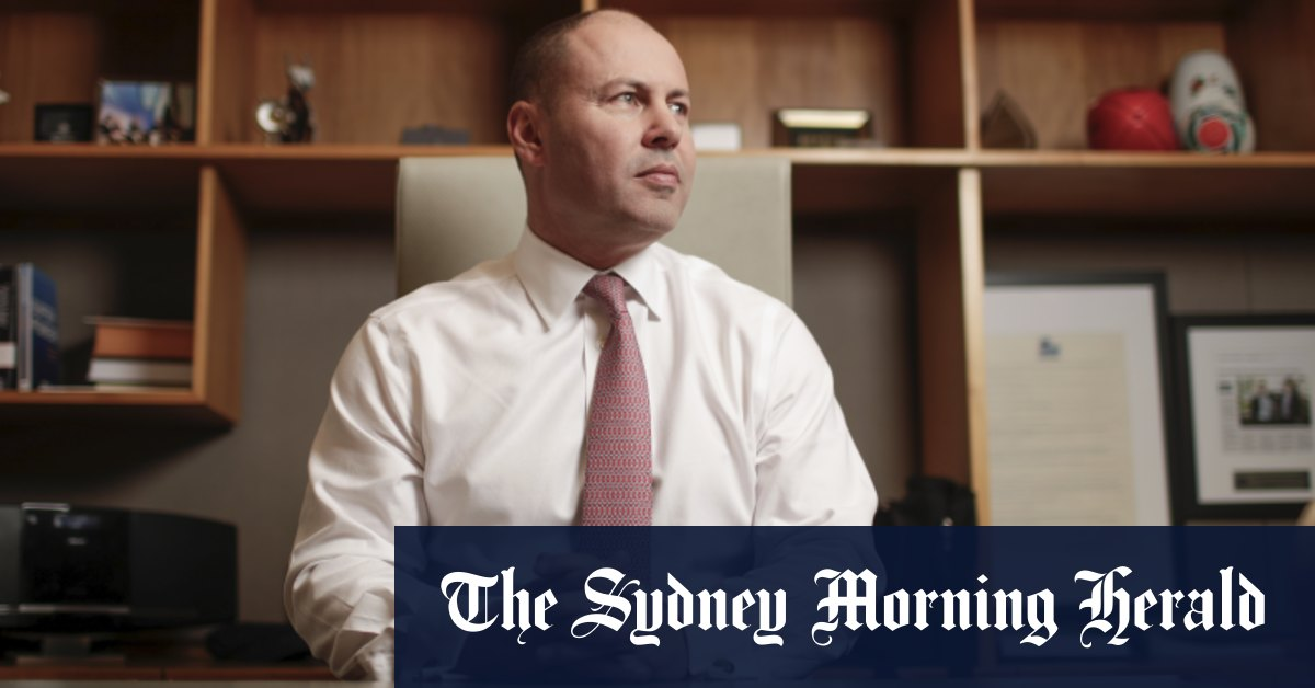 Josh Frydenberg and the monumental task that will define him – Sydney Morning Herald