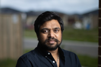 Former Muffin Break franchisee Pranav Patel says he walked away with nothing.