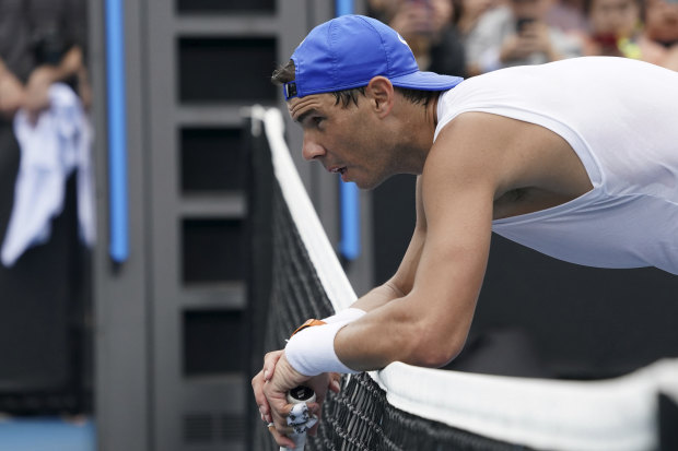 A fourth round showdown with Rafael Nadal will provide motivation for Nick Kyrgios.