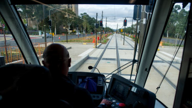 Commuters will have to sit well back from tram drivers to thwart the spread of coronavirus.