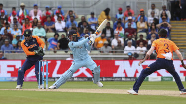 Hitting out: Jason Roy's belligerence with the bat is a welcome fillip for the home side.