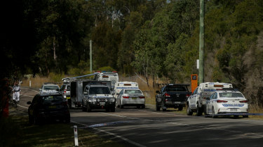 A dead body wrapped in plastic was discovered on Saturday afternoon at Cockle Creek.