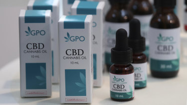 Cannabis oil can be legally sold over the counter from Monday.