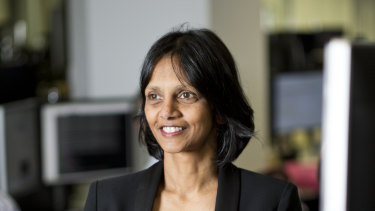 """Macquarie chief executive Shemara Wikramanayake: """"Australia is well placed to weather this challenging environment in the long-term."""""""
