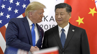 The ongoing trade war is keeping investors on edge.